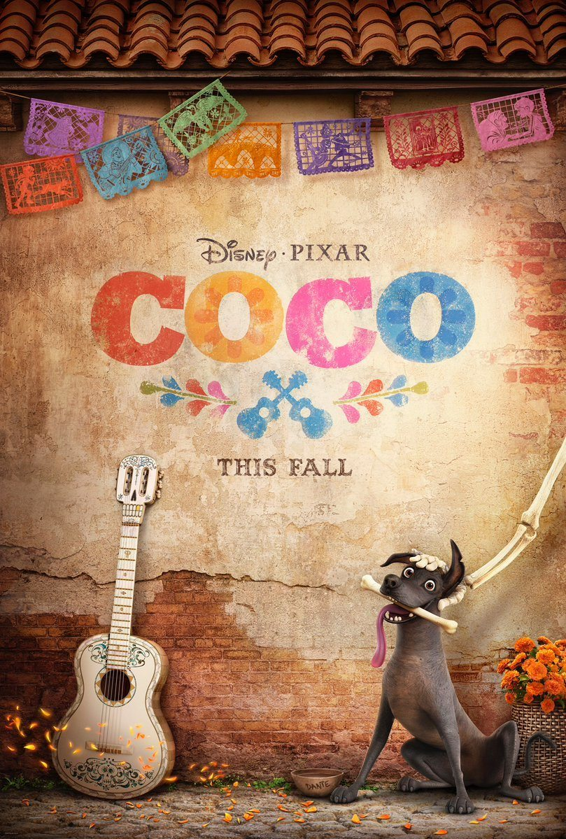 Disney-Pixar CoCo Trailer