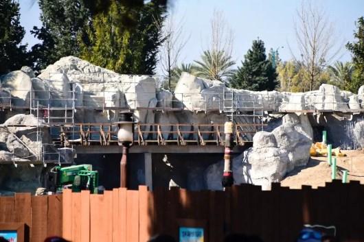DisneylandStarWarsLandConstruction 1