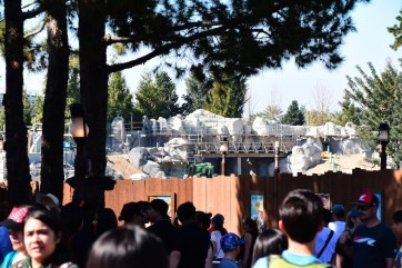 DisneylandStarWarsLandConstruction 2