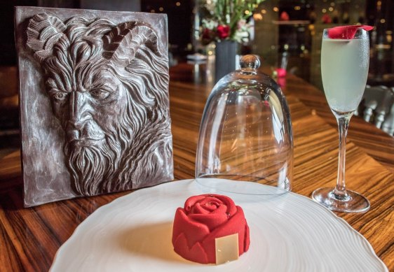 Enchanted Rose and Chocolate Beast