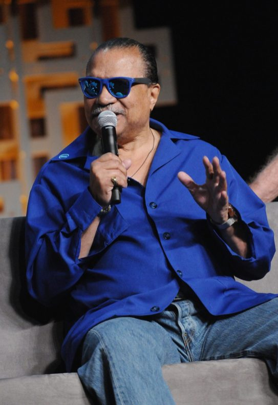 ORLANDO, FL - APRIL 13: Billy Dee Williams attends the 40 YEARS OF STAR WARS PANEL during the 2017 STAR WARS CELEBRATION at Orange County Convention Center on April 13, 2017 in Orlando, Florida. (Photo by Gerardo Mora/Getty Images for Disney) *** Local Caption *** Billy Dee Williams