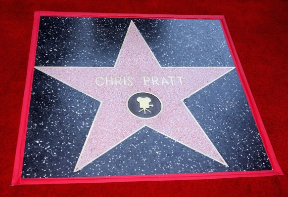 HOLLYWOOD, CA - APRIL 21: A view of the atmosphere at the Chris Pratt Walk Of Fame Star Ceremony on April 21, 2017 in Hollywood, California. (Photo by Jesse Grant/Getty Images for Disney)