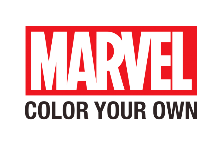Marvel Color Your Own Logo