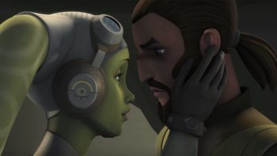 Hera & Kanan Romance Star Wars Rebels Season 4