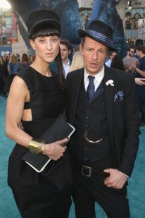 """HOLLYWOOD, CA - MAY 18: Designer Esther Perbandt and actor Alexander Scheer at the Premiere of Disney's and Jerry Bruckheimer Films' """"Pirates of the Caribbean: Dead Men Tell No Tales,"""" at the Dolby Theatre in Hollywood, CA with Johnny Depp as the one-and-only Captain Jack in a rollicking new tale of the high seas infused with the elements of fantasy, humor and action that have resulted in an international phenomenon for the past 13 years. May 18, 2017 in Hollywood, California. (Photo by Jesse Grant/Getty Images for Disney) *** Local Caption *** Esther Perbandt; Alexander Scheer"""