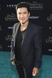 """HOLLYWOOD, CA - MAY 18: Tv personality Mario Lopez at the Premiere of Disney's and Jerry Bruckheimer Films' """"Pirates of the Caribbean: Dead Men Tell No Tales,"""" at the Dolby Theatre in Hollywood, CA with Johnny Depp as the one-and-only Captain Jack in a rollicking new tale of the high seas infused with the elements of fantasy, humor and action that have resulted in an international phenomenon for the past 13 years. May 18, 2017 in Hollywood, California. (Photo by Rich Polk/Getty Images for Disney) *** Local Caption *** Mario Lopez"""