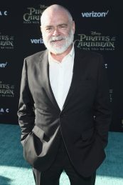 """HOLLYWOOD, CA - MAY 18: Actor Kevin McNally at the Premiere of Disney's and Jerry Bruckheimer Films' """"Pirates of the Caribbean: Dead Men Tell No Tales,"""" at the Dolby Theatre in Hollywood, CA with Johnny Depp as the one-and-only Captain Jack in a rollicking new tale of the high seas infused with the elements of fantasy, humor and action that have resulted in an international phenomenon for the past 13 years. May 18, 2017 in Hollywood, California. (Photo by Rich Polk/Getty Images for Disney) *** Local Caption *** Kevin McNally"""