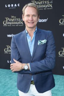 "HOLLYWOOD, CA - MAY 18: Tv personality Carson Kressley at the Premiere of Disney's and Jerry Bruckheimer Films' ""Pirates of the Caribbean: Dead Men Tell No Tales,"" at the Dolby Theatre in Hollywood, CA with Johnny Depp as the one-and-only Captain Jack in a rollicking new tale of the high seas infused with the elements of fantasy, humor and action that have resulted in an international phenomenon for the past 13 years. May 18, 2017 in Hollywood, California. (Photo by Rich Polk/Getty Images for Disney) *** Local Caption *** Carson Kressley"