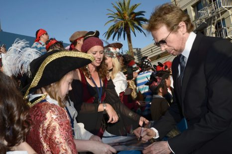 """HOLLYWOOD, CA - MAY 18: Producer Jerry Bruckheimer at the Premiere of Disney's and Jerry Bruckheimer Films' """"Pirates of the Caribbean: Dead Men Tell No Tales,"""" at the Dolby Theatre in Hollywood, CA with Johnny Depp as the one-and-only Captain Jack in a rollicking new tale of the high seas infused with the elements of fantasy, humor and action that have resulted in an international phenomenon for the past 13 years. May 18, 2017 in Hollywood, California. (Photo by Marc Flores/Getty Images for Disney) *** Local Caption *** Jerry Bruckheimer"""