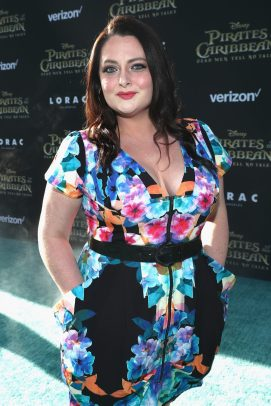 """HOLLYWOOD, CA - MAY 18: Actor Lauren Ash at the Premiere of Disney's and Jerry Bruckheimer Films' """"Pirates of the Caribbean: Dead Men Tell No Tales,"""" at the Dolby Theatre in Hollywood, CA with Johnny Depp as the one-and-only Captain Jack in a rollicking new tale of the high seas infused with the elements of fantasy, humor and action that have resulted in an international phenomenon for the past 13 years. May 18, 2017 in Hollywood, California. (Photo by Rich Polk/Getty Images for Disney) *** Local Caption *** Lauren Ash"""