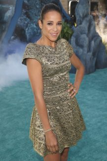 """HOLLYWOOD, CA - MAY 18: Actor Dania Ramirez at the Premiere of Disney's and Jerry Bruckheimer Films' """"Pirates of the Caribbean: Dead Men Tell No Tales,"""" at the Dolby Theatre in Hollywood, CA with Johnny Depp as the one-and-only Captain Jack in a rollicking new tale of the high seas infused with the elements of fantasy, humor and action that have resulted in an international phenomenon for the past 13 years. May 18, 2017 in Hollywood, California. (Photo by Jesse Grant/Getty Images for Disney) *** Local Caption *** Dania Ramirez"""