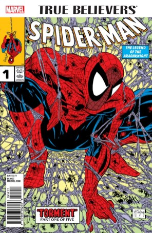 TRUE BELIEVERS SPIDER-MAN 001