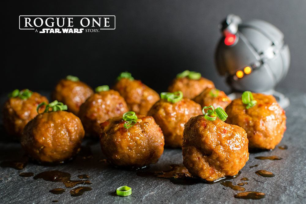 Geek Eats: Star Wars Thermal Detonator Meatballs Recipe - Geeks Who Eat