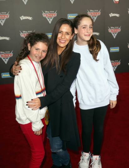 "ANAHEIM, CA - JUNE 10: Actor Soleil Moon Frye (C) and guests at the World Premiere of Disney/Pixarís ìCars 3"" at the Anaheim Convention Center on June 10, 2017 in Anaheim, California. (Photo by Jesse Grant/Getty Images for Disney) *** Local Caption *** Soleil Moon Frye"