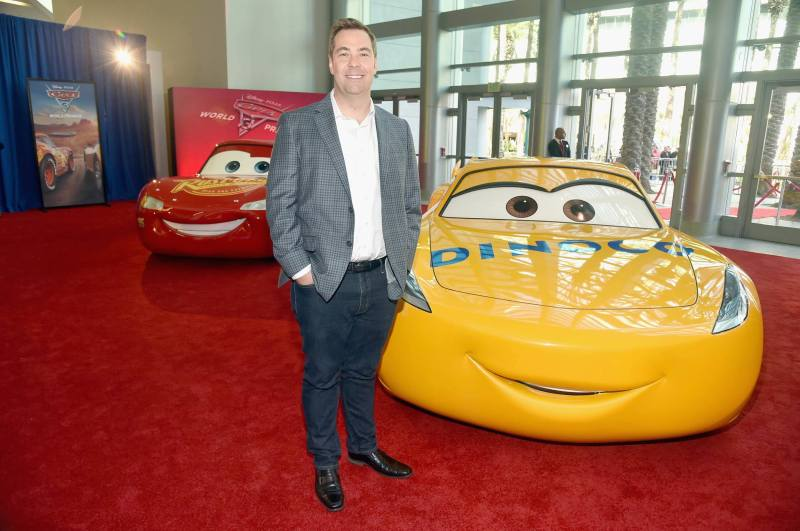 """ANAHEIM, CA - JUNE 10: Director Brian Fee poses at the World Premiere of Disney/Pixarís ìCars 3"""" at the Anaheim Convention Center on June 10, 2017 in Anaheim, California. (Photo by Alberto E. Rodriguez/Getty Images for Disney) *** Local Caption *** Brian Fee"""