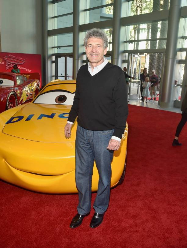 """ANAHEIM, CA - JUNE 10: Chairman of The Walt Disney Studios, Alan F. Horn poses at the World Premiere of Disney/Pixarís ìCars 3"""" at the Anaheim Convention Center on June 10, 2017 in Anaheim, California. (Photo by Alberto E. Rodriguez/Getty Images for Disney) *** Local Caption *** Alan F. Horn"""