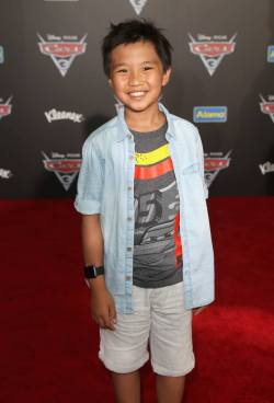 "ANAHEIM, CA - JUNE 10: Actor Ian Chen poses at the World Premiere of Disney/Pixarís ìCars 3"" at the Anaheim Convention Center on June 10, 2017 in Anaheim, California. (Photo by Jesse Grant/Getty Images for Disney) *** Local Caption *** Ian Chen"