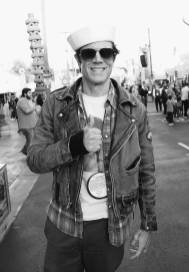 ANAHEIM, CA - JUNE 10: (EDITORS NOTE: Image has been shot in black and white. Color version not available.) Actor Johnny Knoxville poses at the after party for the World Premiere of Disney/Pixarís ìCars 3î at Cars Land at Disney California Adventure in Anaheim, CA. (Photo by Charley Gallay/Getty Images for Disney) *** Local Caption *** Johnny Knoxville