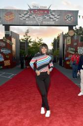 ANAHEIM, CA - JUNE 10: Actor Kerry Washington poses at the after party for the World Premiere of Disney/Pixarís ìCars 3î at Cars Land at Disney California Adventure in Anaheim, CA. (Photo by Alberto E. Rodriguez/Getty Images for Disney) *** Local Caption *** Kerry Washington