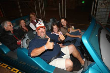 ANAHEIM, CA - JUNE 10: Actor Larry the Cable Guy and guests at the after party for the World Premiere of Disney/Pixarís ìCars 3î at Cars Land at Disney California Adventure in Anaheim, CA. (Photo by Jesse Grant/Getty Images for Disney) *** Local Caption *** Larry the Cable Guy,Daniel Lawrence Whitney