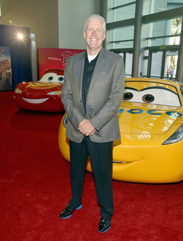 """ANAHEIM, CA - JUNE 10: Writer Mike Rich poses at the World Premiere of Disney/Pixarís ìCars 3"""" at the Anaheim Convention Center on June 10, 2017 in Anaheim, California. (Photo by Alberto E. Rodriguez/Getty Images for Disney) *** Local Caption *** Mike Rich"""