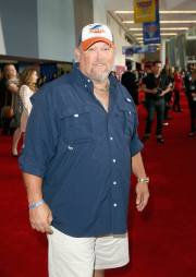 """ANAHEIM, CA - JUNE 10: Actor Larry the Cable Guy poses at the World Premiere of Disney/Pixarís ìCars 3"""" at the Anaheim Convention Center on June 10, 2017 in Anaheim, California. (Photo by Jesse Grant/Getty Images for Disney) *** Local Caption *** Larry the Cable Guy;Daniel Lawrence Whitney"""