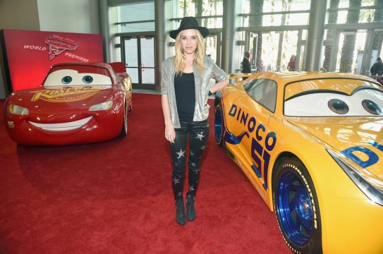 "ANAHEIM, CA - JUNE 10: Recording artist ZZ Ward poses at the World Premiere of Disney/Pixarís ìCars 3"" at the Anaheim Convention Center on June 10, 2017 in Anaheim, California. (Photo by Alberto E. Rodriguez/Getty Images for Disney) *** Local Caption *** ZZ Ward"