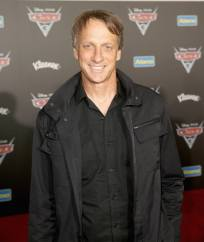 """ANAHEIM, CA - JUNE 10: Professional skateboarder Tony Hawk poses at the World Premiere of Disney/Pixarís ìCars 3"""" at the Anaheim Convention Center on June 10, 2017 in Anaheim, California. (Photo by Jesse Grant/Getty Images for Disney) *** Local Caption *** Tony Hawk"""