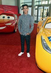 "ANAHEIM, CA - JUNE 10: Actor Karan Brar poses at the World Premiere of Disney/Pixarís ìCars 3"" at the Anaheim Convention Center on June 10, 2017 in Anaheim, California. (Photo by Alberto E. Rodriguez/Getty Images for Disney) *** Local Caption *** Karan Brar"