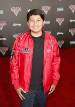 """ANAHEIM, CA - JUNE 10: Actor Kamran Lucas poses at the World Premiere of Disney/Pixarís ìCars 3"""" at the Anaheim Convention Center on June 10, 2017 in Anaheim, California. (Photo by Jesse Grant/Getty Images for Disney) *** Local Caption *** Kamran Lucas"""