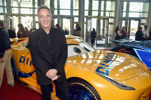 """ANAHEIM, CA - JUNE 10: General Manager of Pixar Jim Morris at the World Premiere of Disney/Pixarís ìCars 3"""" at the Anaheim Convention Center on June 10, 2017 in Anaheim, California. (Photo by Alberto E. Rodriguez/Getty Images for Disney) *** Local Caption *** Jim Morris"""
