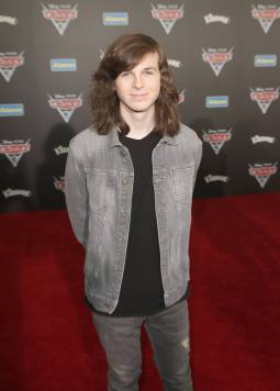 "ANAHEIM, CA - JUNE 10: Actor Chandler Riggs at the World Premiere of Disney/Pixarís ìCars 3"" at the Anaheim Convention Center on June 10, 2017 in Anaheim, California. (Photo by Jesse Grant/Getty Images for Disney) *** Local Caption *** Chandler Riggs"