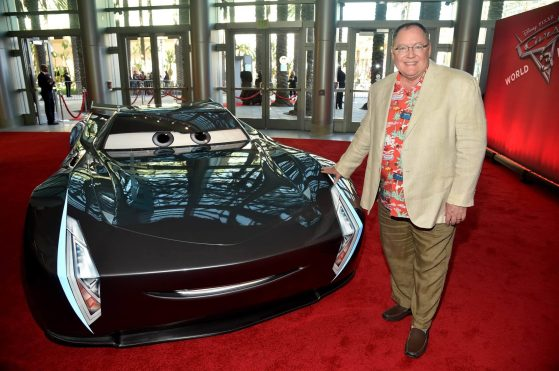 """ANAHEIM, CA - JUNE 10: Executive producer John Lasseter at the World Premiere of Disney/Pixarís ìCars 3"""" at the Anaheim Convention Center on June 10, 2017 in Anaheim, California. (Photo by Alberto E. Rodriguez/Getty Images for Disney) *** Local Caption *** John Lasseter"""