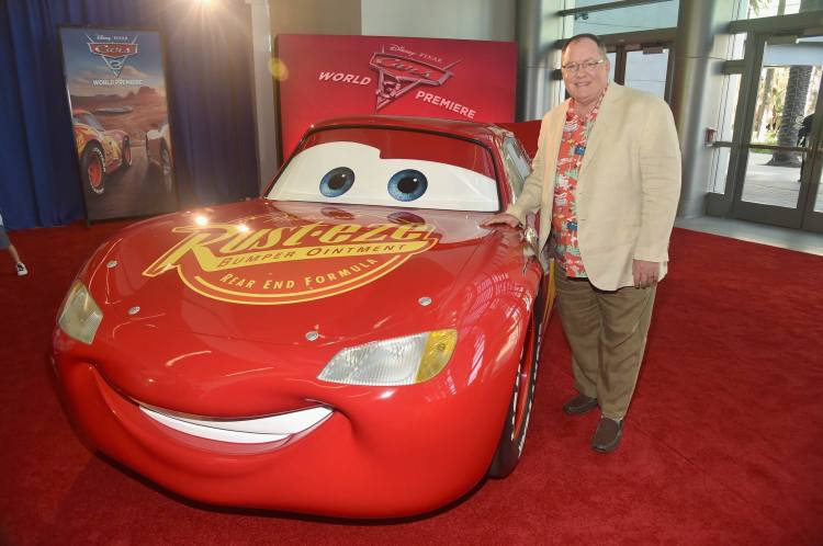 "ANAHEIM, CA - JUNE 10: Executive producer John Lasseter poses at the World Premiere of Disney/Pixarís ìCars 3"" at the Anaheim Convention Center on June 10, 2017 in Anaheim, California. (Photo by Alberto E. Rodriguez/Getty Images for Disney) *** Local Caption *** John Lasseter"