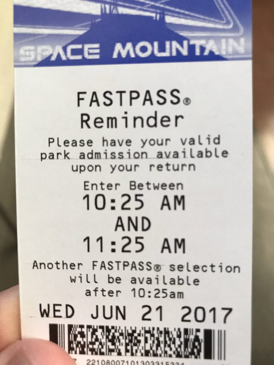 New FastPass System Started at Disneyland Resort