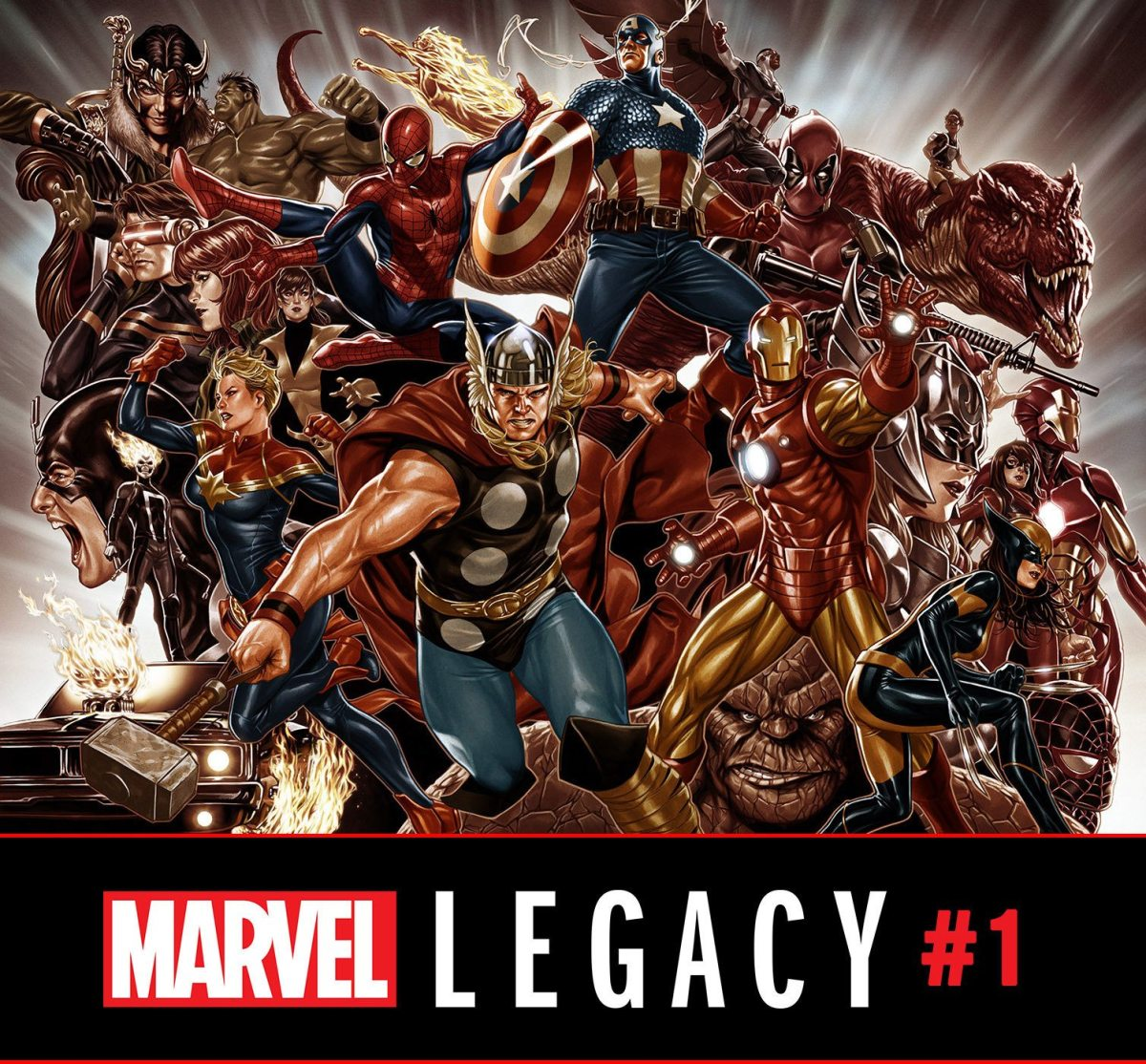 Marvel Comics News Digest 6/19 - 6/23/17 Featuring Marvel Legacy