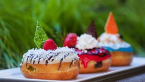 Donuts at Disneyland Hotel for National Donut Day