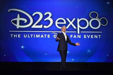D23 EXPO 2017 - Friday, July 14, 2017 - The Ultimate Disney Fan Event - brings together all the worlds of Disney under one roof for three packed days of presentations, pavilions, experiences, concerts, sneak peeks, shopping, and more. The event, which takes place July 14-16 at the Anaheim Convention Center, provides fans with unprecedented access to Disney films, television, games, theme parks, and celebrities. (Disney/Image Group LA) ROBERT A. IGER (CHAIRMAN AND CHIEF EXECUTIVE OFFICER, THE WALT DISNEY COMPANY)