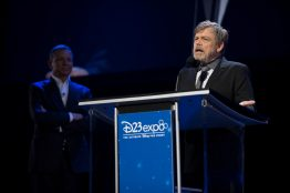 D23 EXPO 2017 - Friday, July 14, 2017 - The Ultimate Disney Fan Event - brings together all the worlds of Disney under one roof for three packed days of presentations, pavilions, experiences, concerts, sneak peeks, shopping, and more. The event, which takes place July 14-16 at the Anaheim Convention Center, provides fans with unprecedented access to Disney films, television, games, theme parks, and celebrities. (Disney/Image Group LA) MARK HAMILL