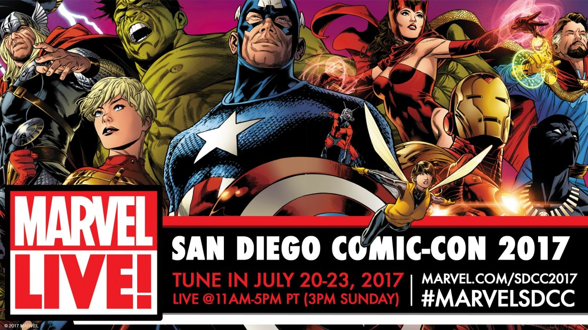 Marvel Comics News Digest 7/17 - 7/21/17 Featuring SDCC News