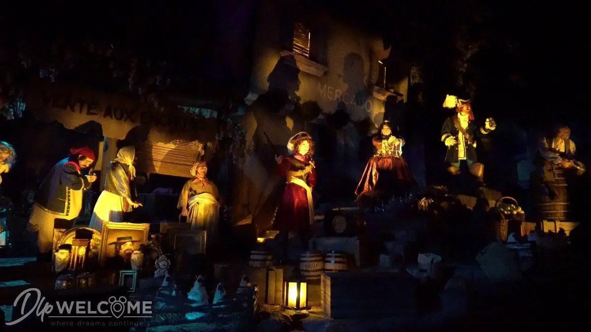 Disneyland Paris Pirates of the Caribbean New Auction Scene
