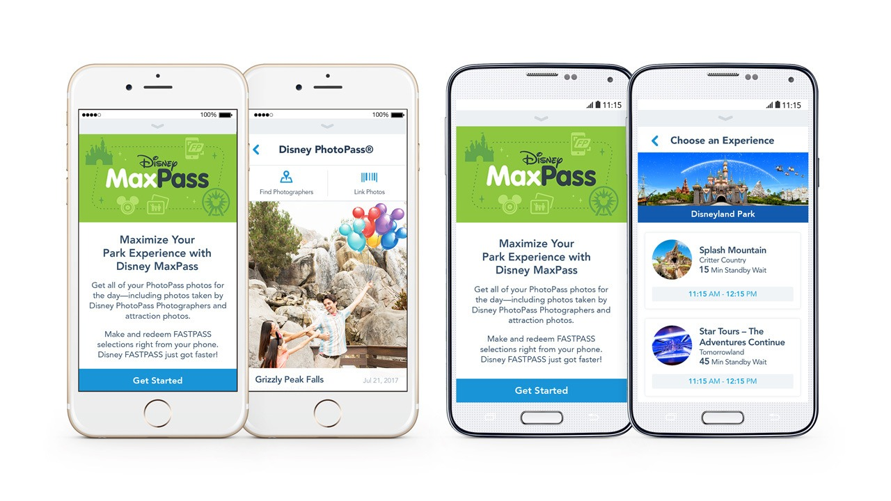 Disney MaxPass for Disneyland Resort