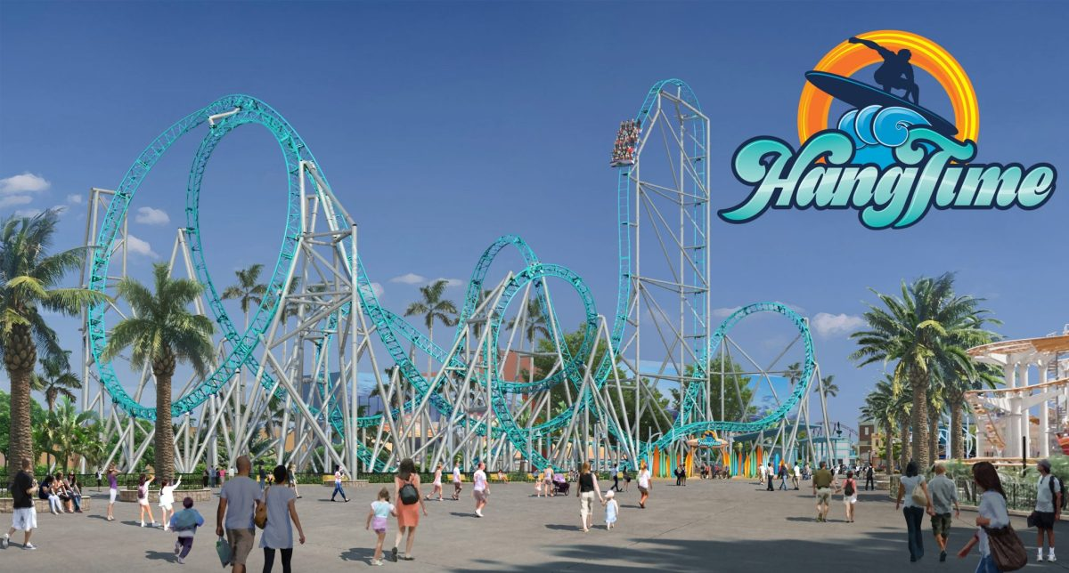 Knott's Berry Farm Announces Dive Roller Coaster HangTime