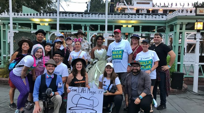 Team DAPs Magic - 2017 CHOC Walk in the Park at Disneyland