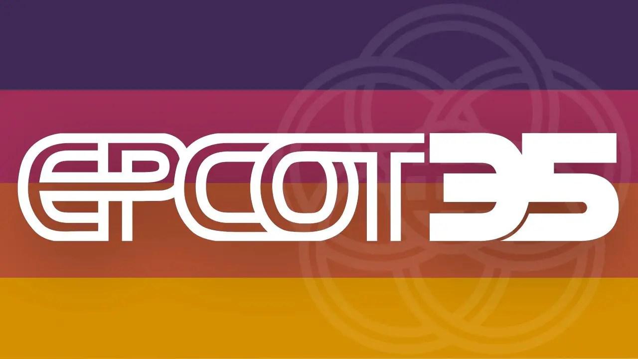 Epcot 35th Anniversary