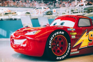 """NASCAR community welcomes #95 to a new """"Cars 3"""" exhibit at the NASCAR Hall of Fame celebrating the in-home release"""