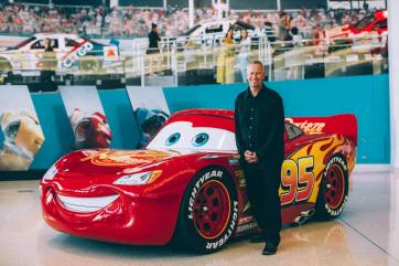 CHARLOTTE, NC - SEPTEMBER 28: Cars 3 Producer Kevin Reher