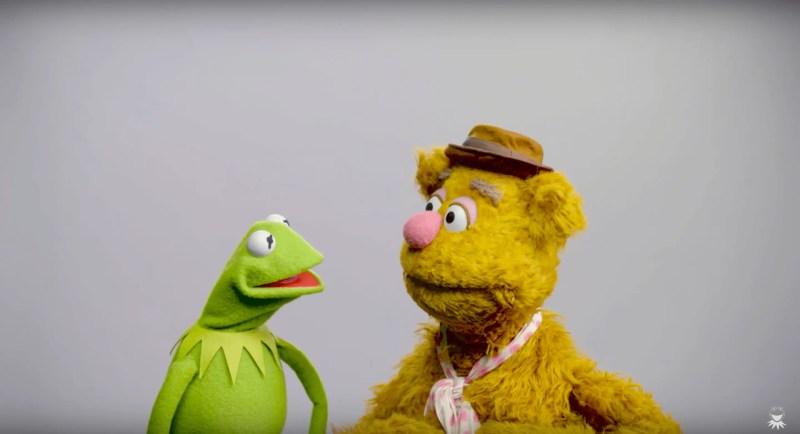 Kermit the Frog & Fozzie Bear