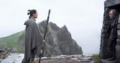 Star Wars: The Last Jedi - Luke & Rey