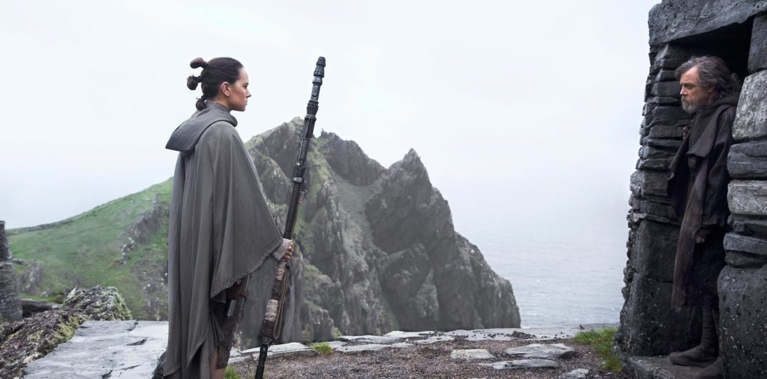 Star Wars: The Last Jedi - Luke & Rey